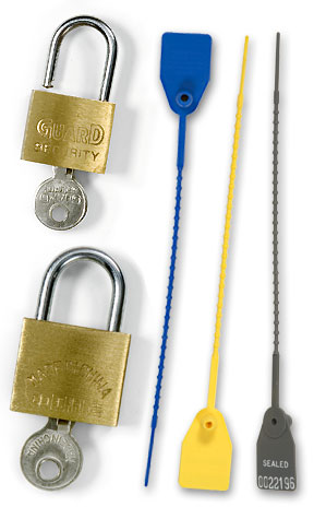 Security Seals, Padlocks