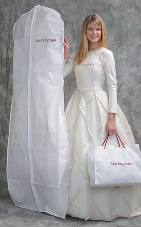Basic Ltd Breathable Bridal Dress Garment Bags Printed