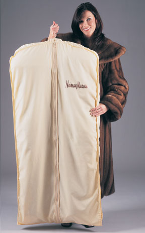Zipper Fur Coat Garment Bags